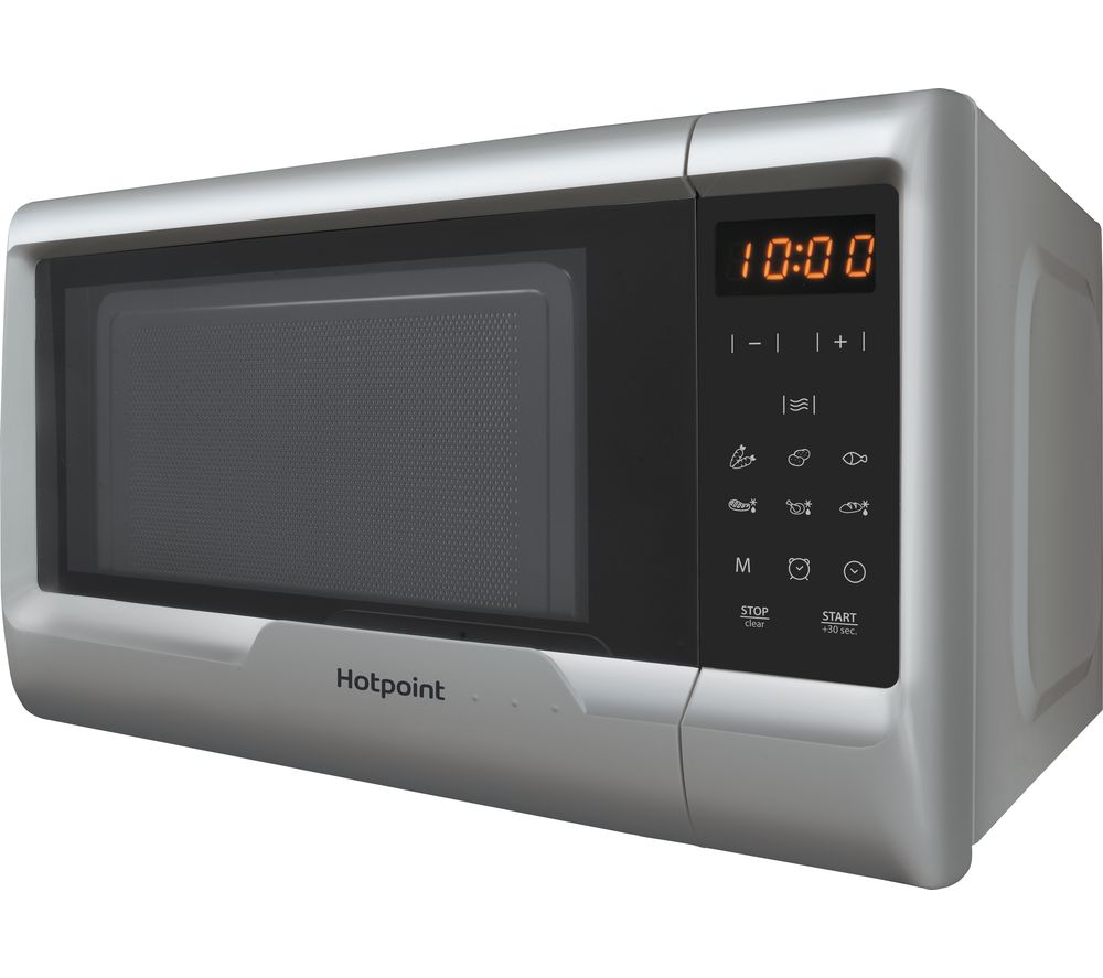 HOTPOINT  MyLine MWH 2031 Solo Microwave  Silver Silver