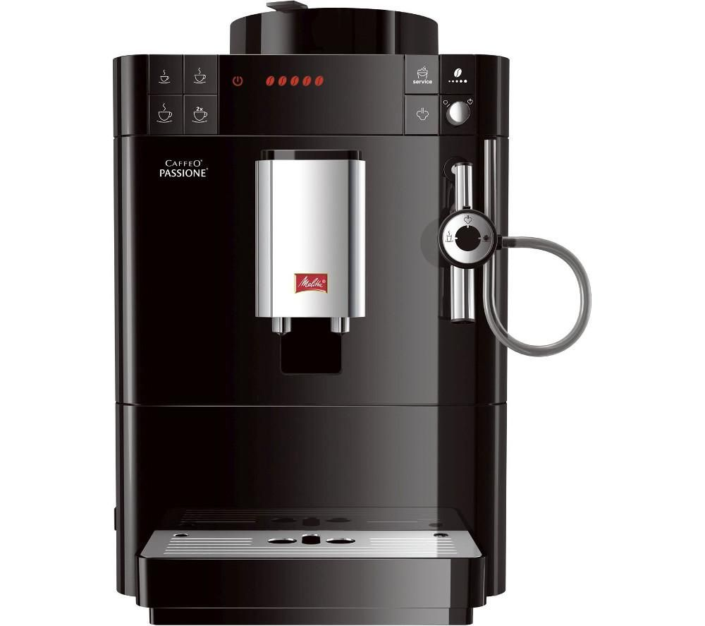 buy melitta caffeo passione f53 0 102 bean to cup coffee machine black free delivery currys. Black Bedroom Furniture Sets. Home Design Ideas