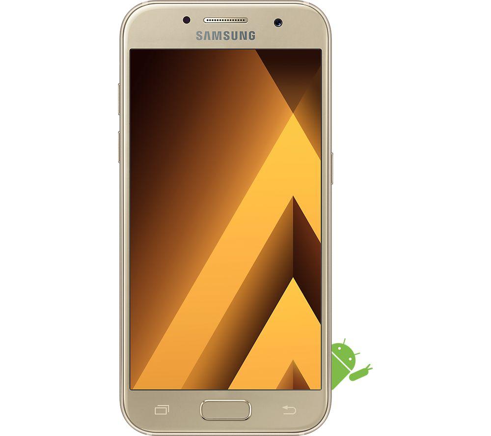 SAMSUNG Galaxy A3 (2017) - 16 GB, Gold