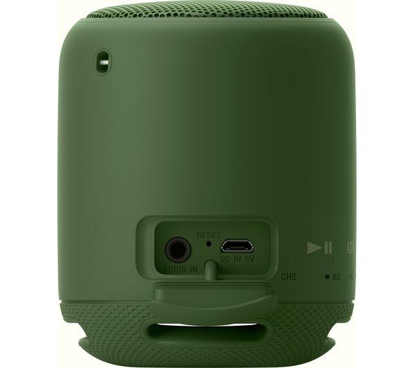 sony srs xb10 portable bluetooth wireless speaker green deals pc world. Black Bedroom Furniture Sets. Home Design Ideas
