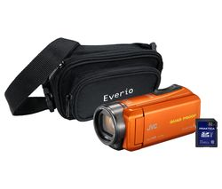JVC GZ-R435 Camcorder Kit - Orange