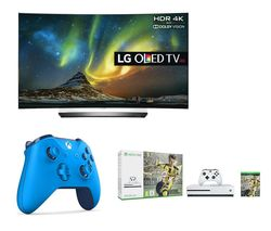 "LG OLED65C6V Smart 3D 4k Ultra HD HDR 65"" Curved OLED TV"