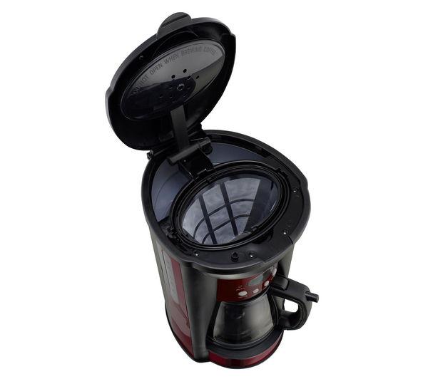 Logik Lc10dcr12 Coffee Maker Reviews : Buy LOGIK LC10DCR12 Coffee Maker - Red Free Delivery Currys