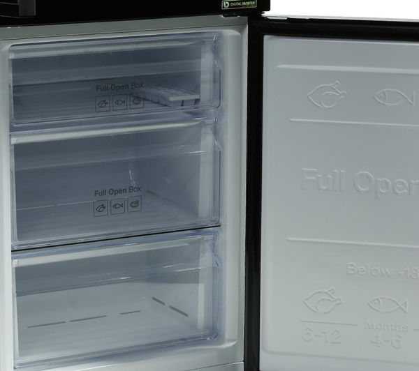 Buy Samsung Rb31fdjndbc 70 30 Fridge Freezer Black