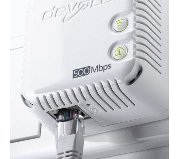 buy devolo dlan 500 wireless powerline adapter kit twin. Black Bedroom Furniture Sets. Home Design Ideas
