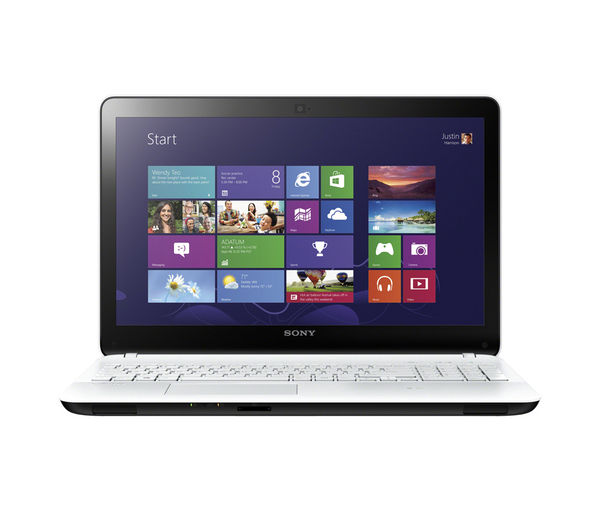 Sony VAIO Fit 15 E SVF1521A1EW.CEK Refurbished 15&65533 Laptop &65533 White White