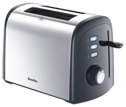 BREVILLE VTT375 2-Slice Toaster - Polished Stainless Steel
