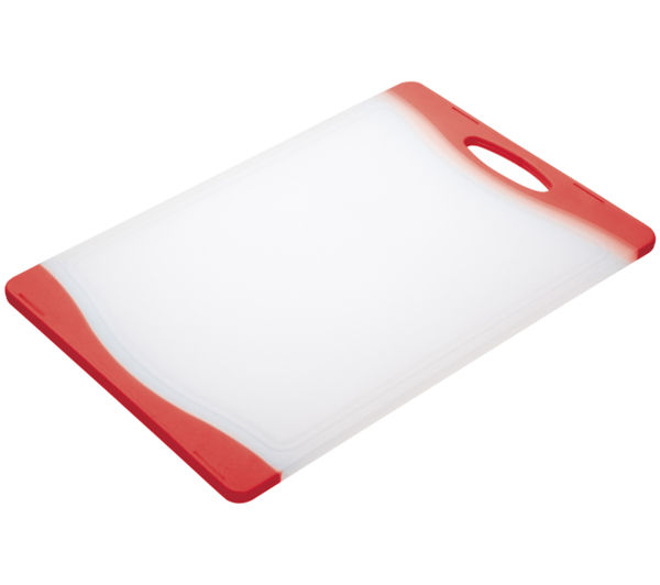 Colourworks 35 cm x 24 cm Cutting Board   Red, Red