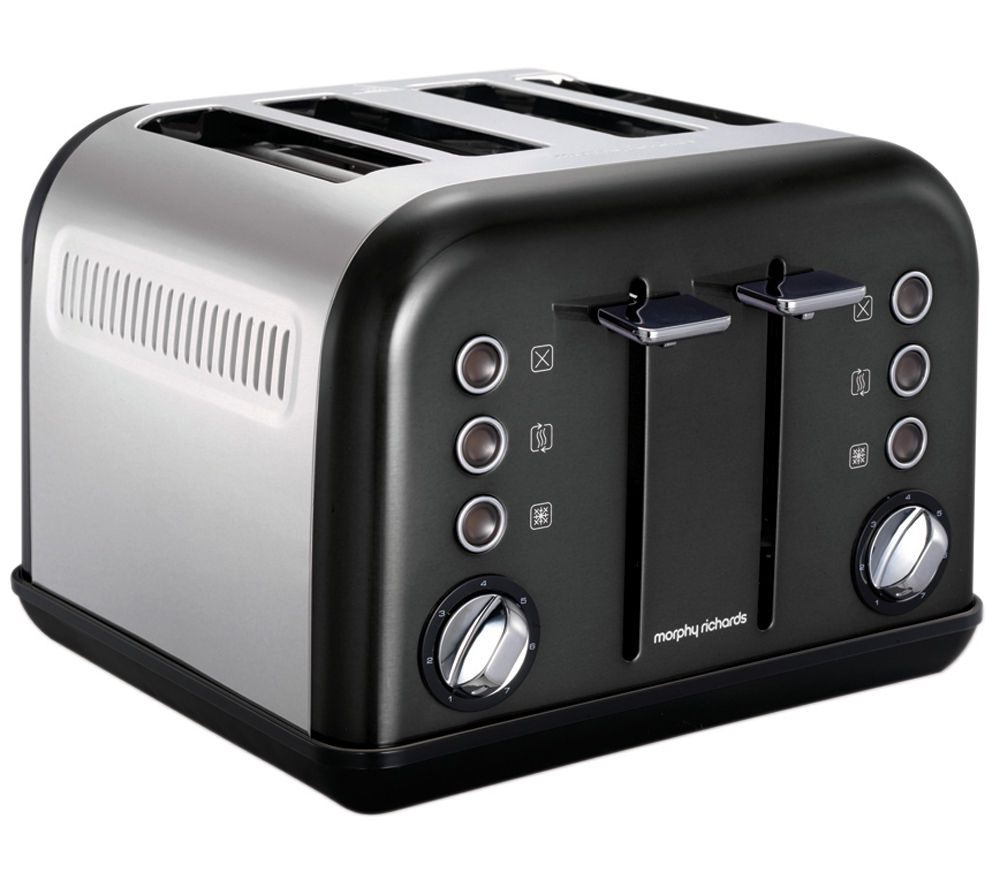 MORPHY RICHARDS Accents 242002 4-Slice Toaster - Black