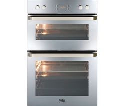 BEKO ODF24300M Electric Double Oven - Mirror
