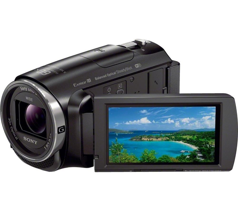 Image of Sony Handycam HDR-PJ620 Full HD Camcorder - Black, Black