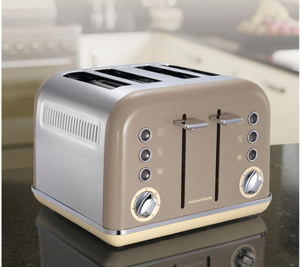 Morphy Richards Toaster: Buy MORPHY RICHARDS Accents 242008 4-Slice Toaster
