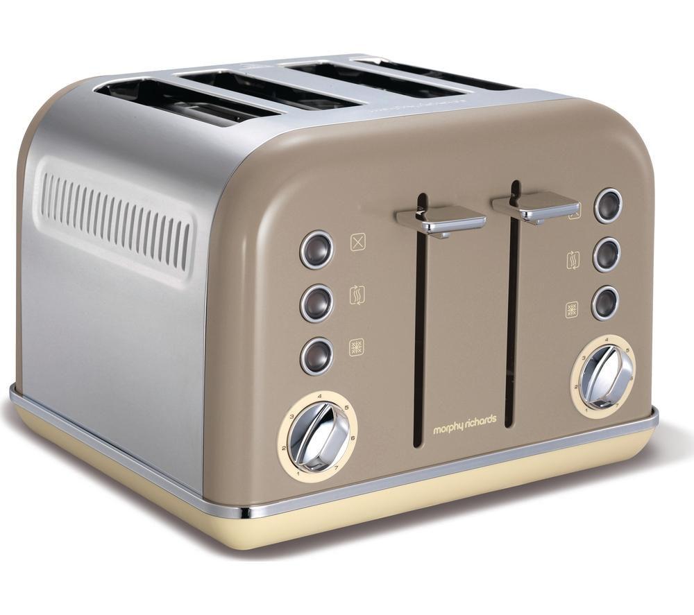 buy morphy richards accents 242008 4 slice toaster. Black Bedroom Furniture Sets. Home Design Ideas