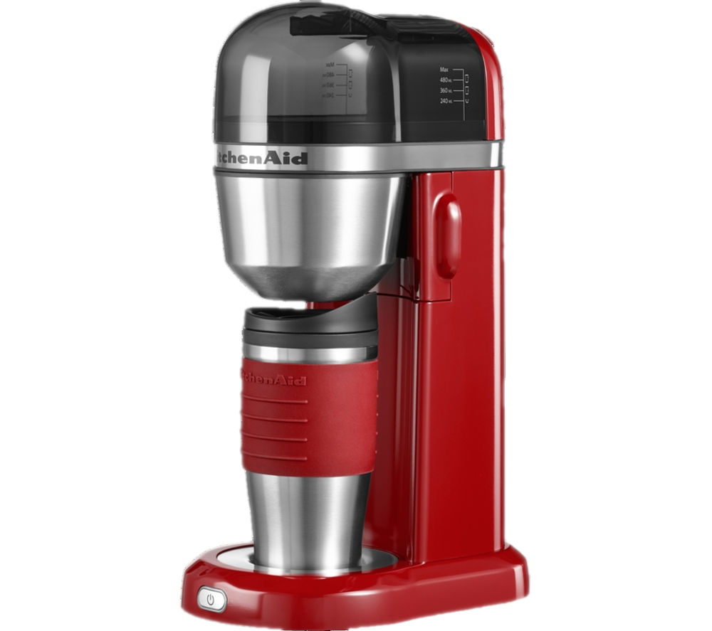 Buy KITCHENAID 5KCM0402BER Personal Coffee Maker Empire Red Free Delivery Currys