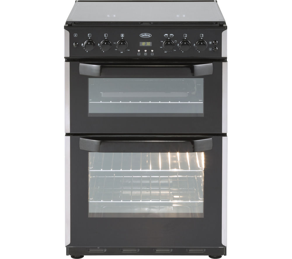BELLING CFG60DOF 60 cm Gas Cooker - Stainless Steel