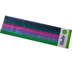 3DOODLER Clearly Springtime PLMIX11 3D Printer Pen Refills - 25 strands