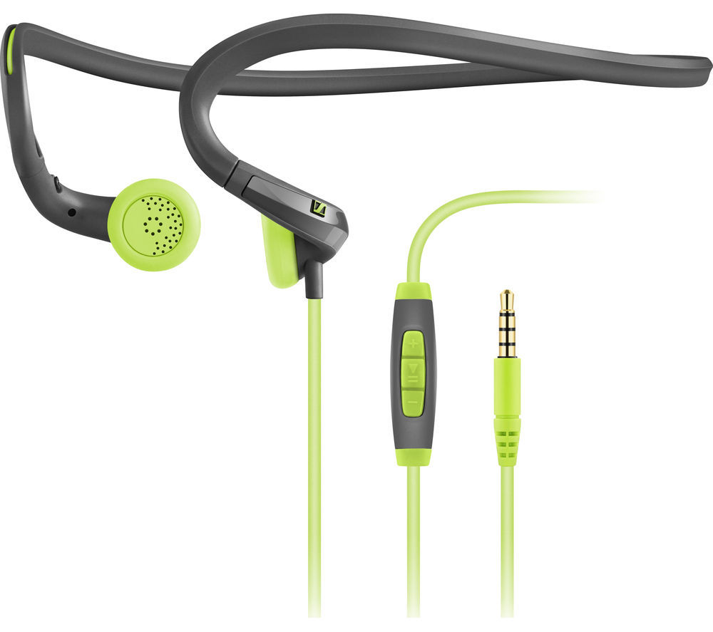 Click to view more of SENNHEISER  PMX 684i Sports Headphones - Green, Green
