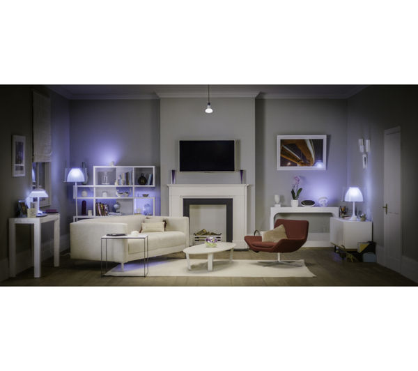 buy philips hue wireless bulbs starter kit gu10 free delivery currys. Black Bedroom Furniture Sets. Home Design Ideas
