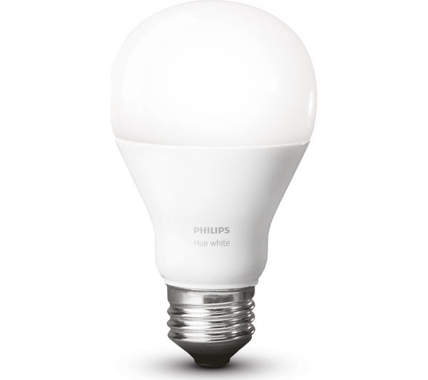 buy philips hue white wireless bulbs starter kit e27 free delivery currys. Black Bedroom Furniture Sets. Home Design Ideas