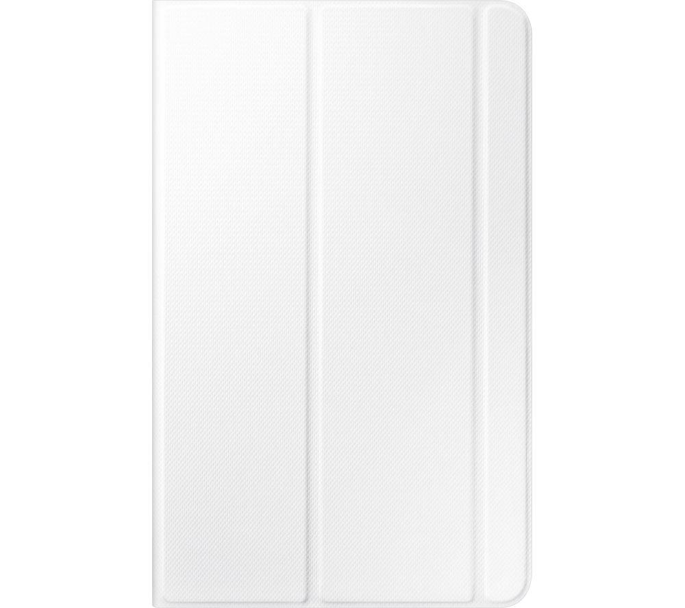 "SAMSUNG SAMSUNG  Tab E 9.6"" Book Cover - White, White"