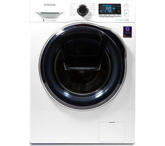 SAMSUNG AddWash WW80K6414QW Washing Machine - White