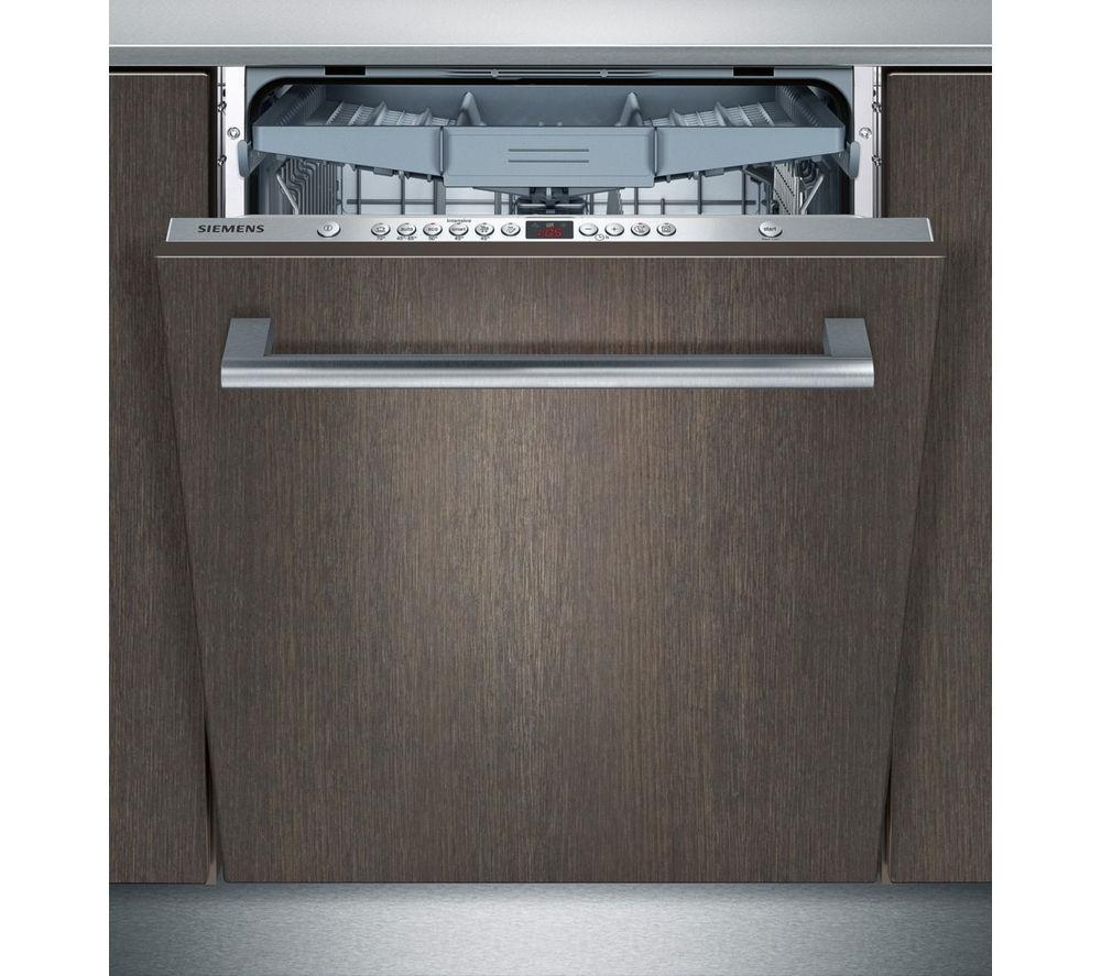 SIEMENS iQ500 SN66L080GB Full-size Integrated Dishwasher