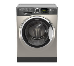 HOTPOINT Smart+ RSG845JGX Washing Machine - Graphite