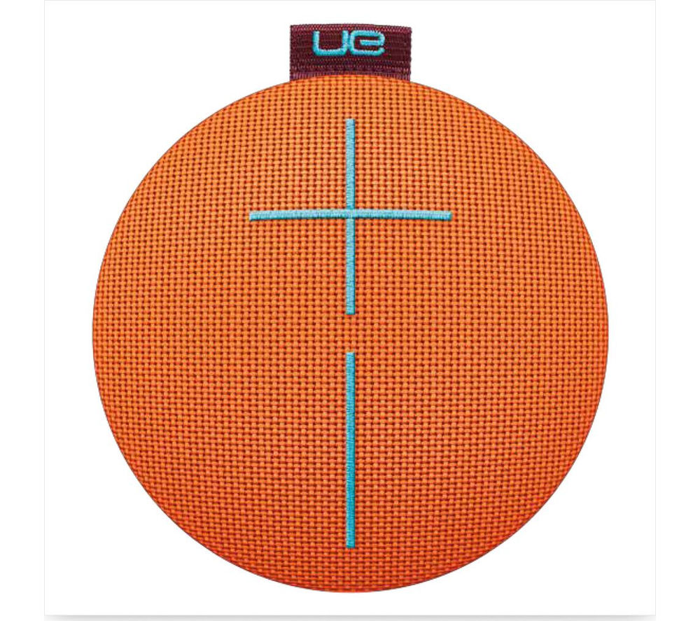 Click to view more of ULTIMATE EARS  UE Roll 2 Portable Wireless Speaker - Orange, Orange
