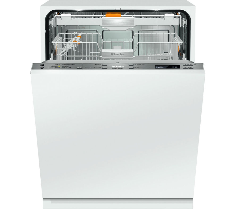 buy miele g6895scvi k2o xxl full size integrated dishwasher free delivery currys. Black Bedroom Furniture Sets. Home Design Ideas