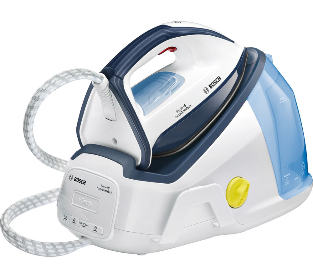 BOSCH Easy Comfort TDS6010GB Steam Generator Iron - White & Blue
