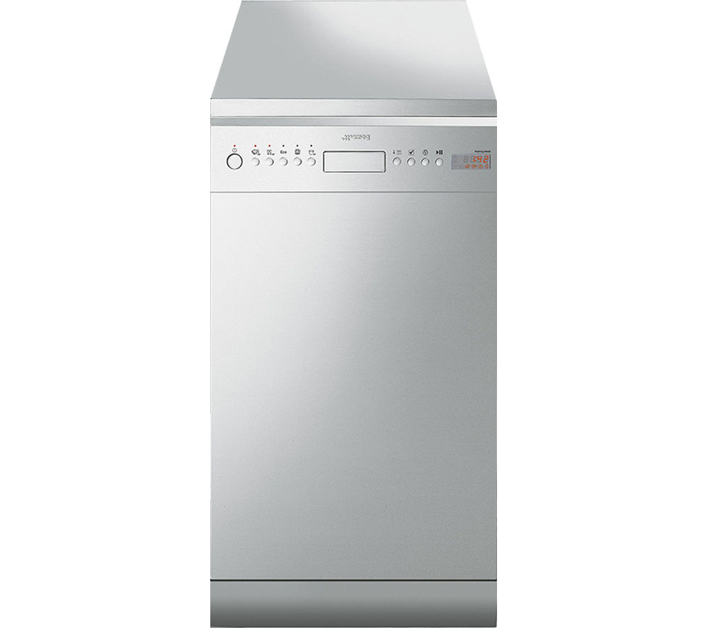 Buy smeg d4ss 1 slimline dishwasher stainless steel Kitchen appliance reviews uk