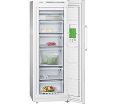 SIEMENS GS29NVW30G Tall Freezer - White