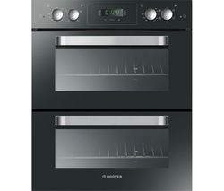 HOOVER HO7D3120PNI Electric Built-under Double Oven - Black