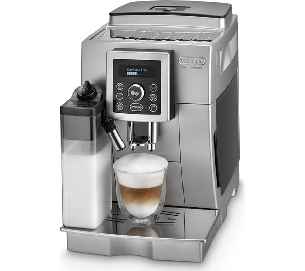 buy delonghi bean to cup coffee machine silver black free delivery currys. Black Bedroom Furniture Sets. Home Design Ideas