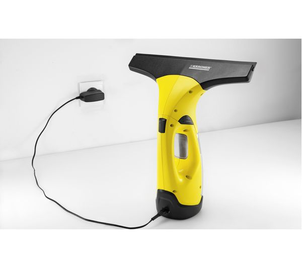 buy karcher wv2 plus window vacuum cleaner yellow free delivery currys. Black Bedroom Furniture Sets. Home Design Ideas