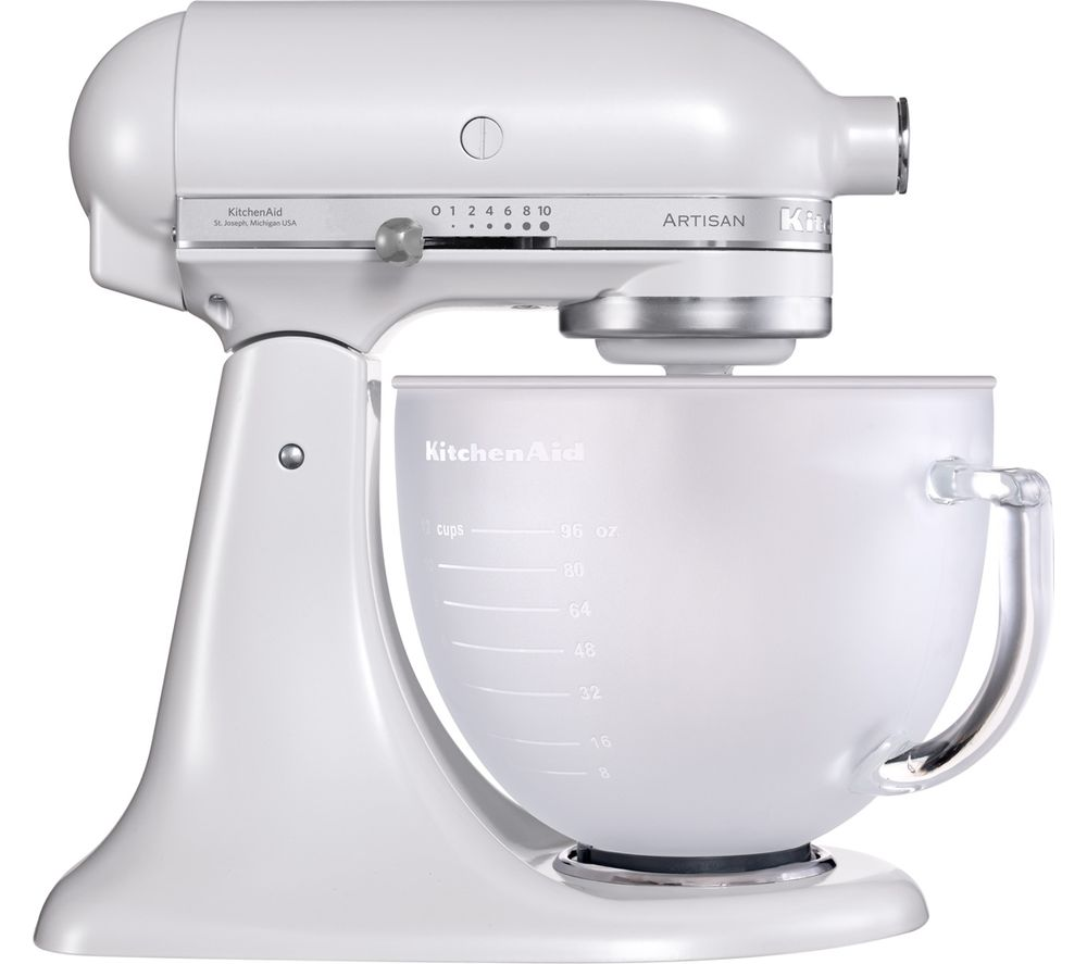 Buy Kitchenaid Artisan 5ksm156bfp Stand Mixer Frosted Pearl Free Delivery Currys
