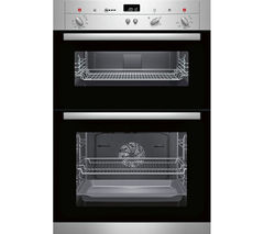 NEFF U12S32N3GB Electric Double Oven - Stainless Steel