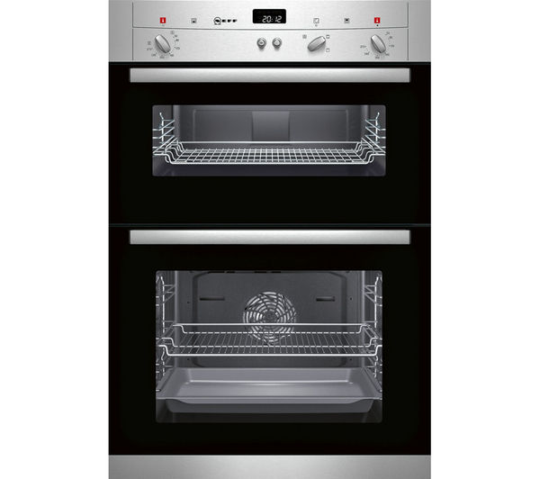 Buy NEFF U12S32N3GB Electric Double Oven Stainless Steel