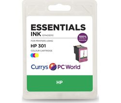 ESSENTIALS H301 Tri-colour HP Ink Cartridge
