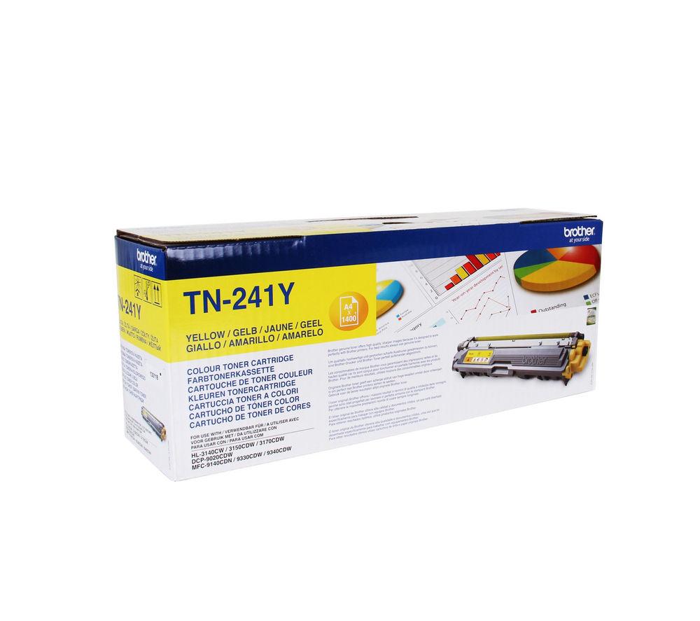 BROTHER TN241Y Yellow Toner Cartridge