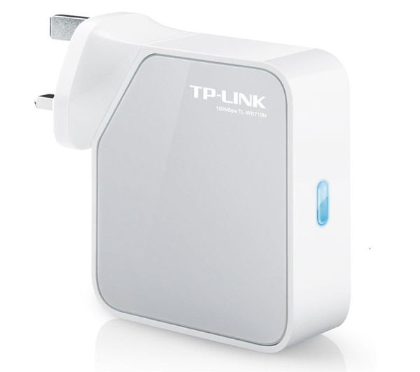 TP-LINK TL-WR710N 150 Mbps Wireless N Mini Router - N150