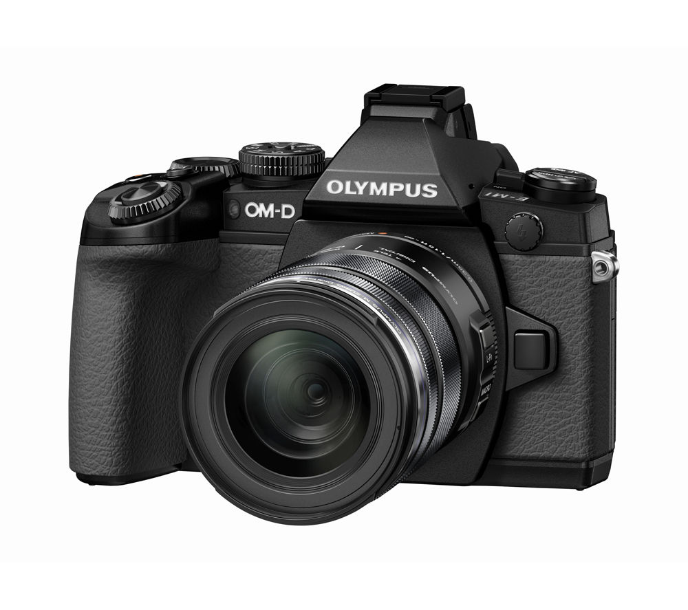 OLYMPUS OM-D E-M1 Compact System Camera with 12-50 mm f/3.5-6.3 Zoom Lens
