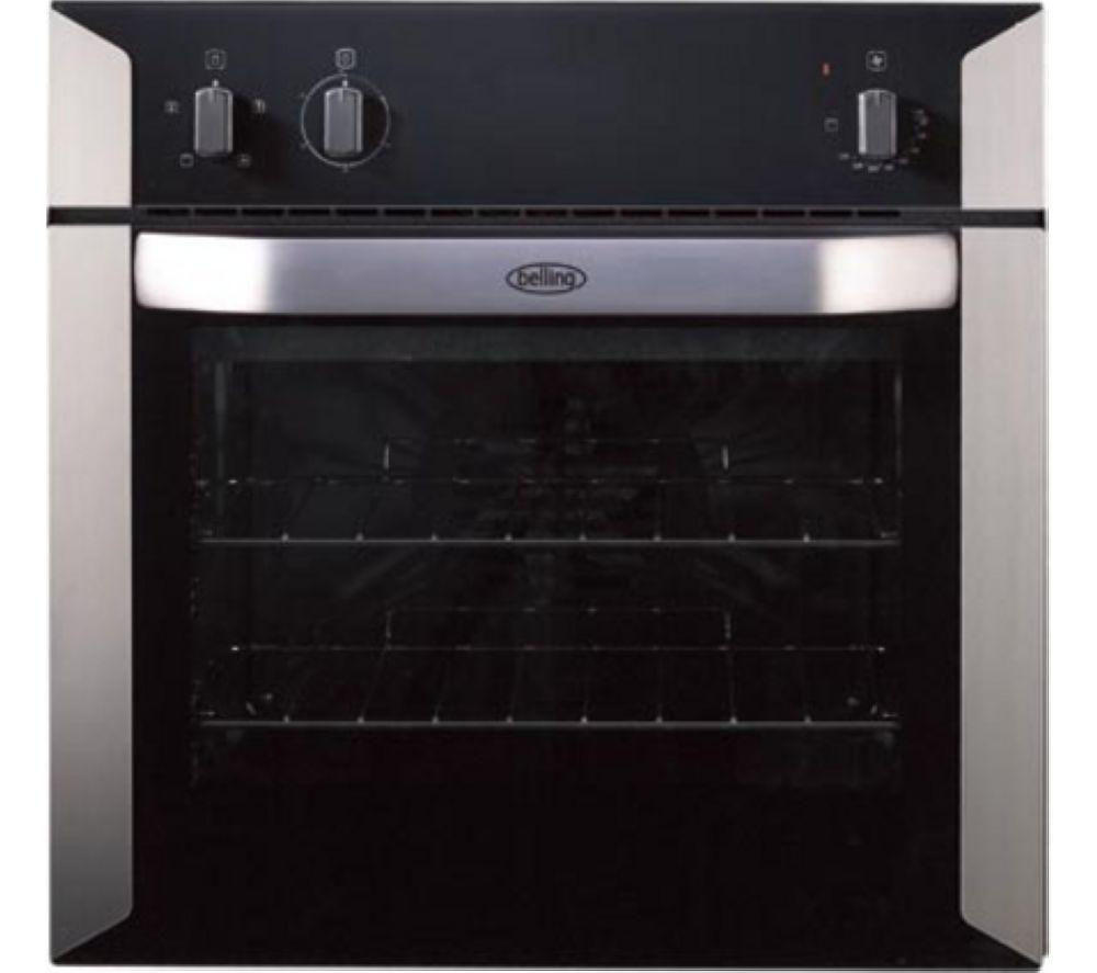 BELLING BI60F Electric Oven - Stainless Steel & Black