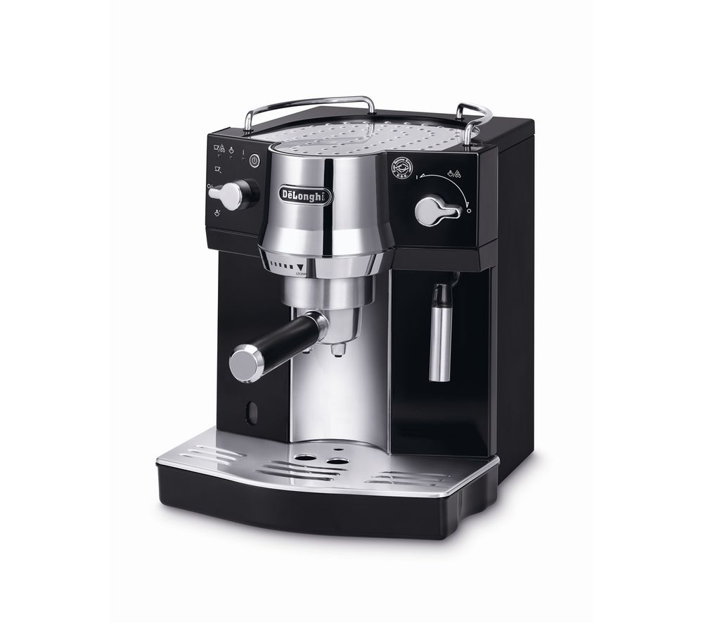 Buy delonghi ec 820 b coffee machine black free delivery currys - Machine a cafe expresso et cappuccino delonghi ...