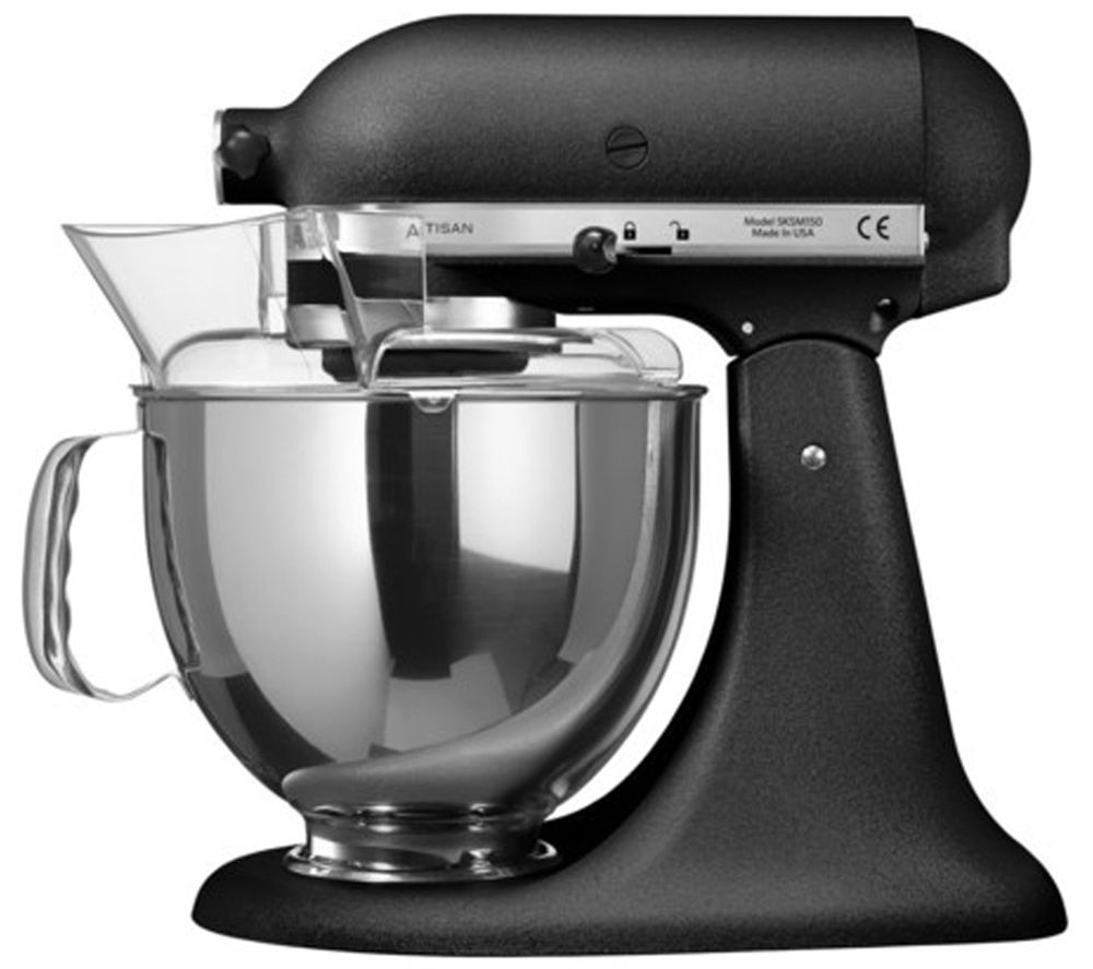 dixons kitchenaid 5ksm150psbbk artisan stand mixer. Black Bedroom Furniture Sets. Home Design Ideas