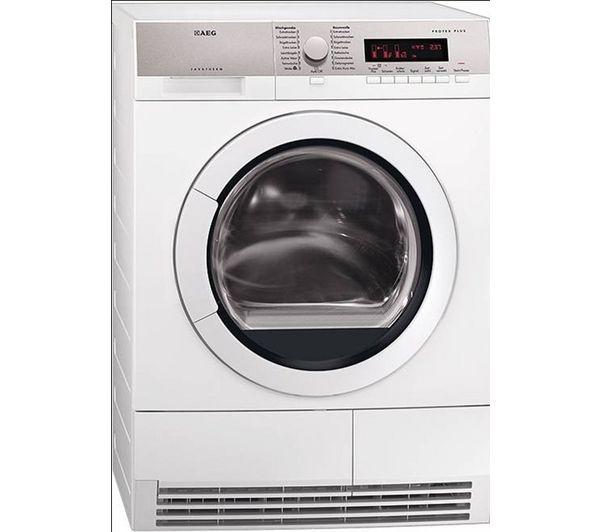 AEG T86280IC Condenser Tumble Dryer – White