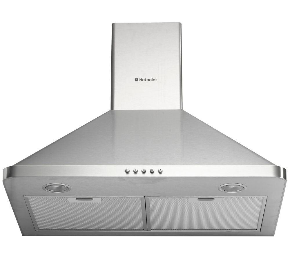 Cooker Hoods Stainless Steel ~ Buy hotpoint hhp cm chimney cooker hood stainless steel