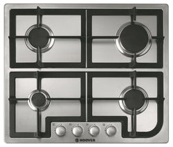 HOOVER HGH64SCX Gas Hob - Stainless Steel