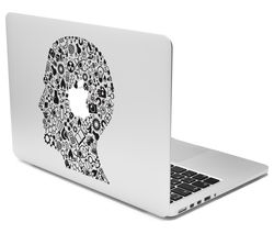 "CASEIT 13"" MacBook Decal - Head Profile"