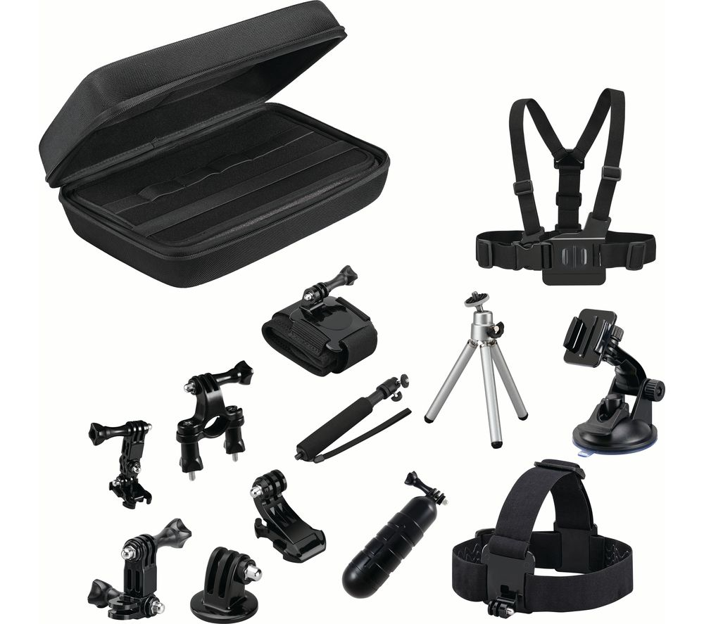 GOJI GAGOPRO15 GoPro Accessory Kit - Black